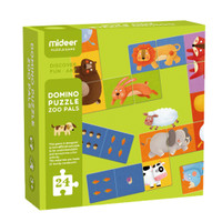 TweedyToys - Mideer Domino Puzzle Zoo Pals