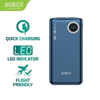 ROBOT RT100Q 18W Two Way Quick Charging 10000mAh with LED Display Blue