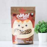75G CHOCOLATE PUFF OMO HEALTHY SNACK KIDS 12M - OMO