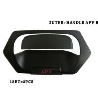 New Paket handle-outer hitam doff APV-Arena.