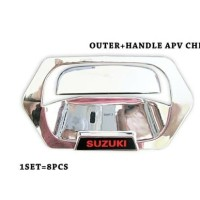 New Paket cover handle-outer chrome APV-Arena.