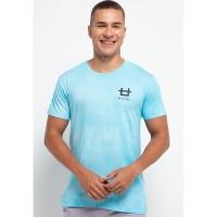 MTH34 thirdday tie dye light blue white unisex t-shirt