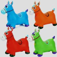 Jumping Animal Music / Mainan Tunggang / Kuda Kudaan Karet