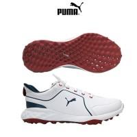 Puma Grip Fusion 2.0 Golf Shoes - White/Dark Denim