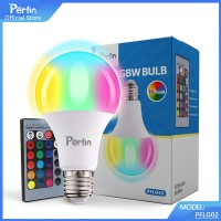 Perfin PFLG02 Lampu Bohlam LED RGB Berubah Warna dengan Remote Control