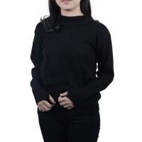 Sweater Rajut Polos Sweater Murah Tebal Knit - Roundhand Turtleneck