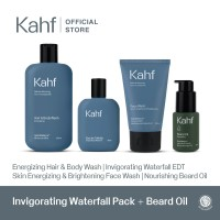 Special Package 6 - Kahf Invigorating Waterfall Pack + Beard Oil
