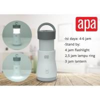 Lampu Darurat Senter Lentera 3 In 1 Rechargeable Apa | Emergency Lamp