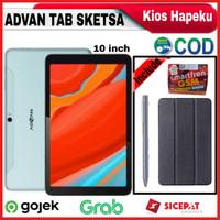 Advan Tab Sketsa 10 Inch Ram 4GB/32GB Garansi Resmi