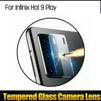 Hot PRomo! Casing Tempered Glass Kamera Infinix Hot 9 Play Lens