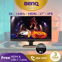 Monitor 144Hz EX2780Q 27inch 2K IPS QHD HDR Eye Care Gaming Monitor