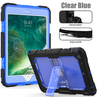 """iPad Pro 10.5"""" Armor Hybrid Shockproof 360 Cover/Case w/Stand+Strap"""