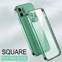 FOR IPHONE 11, 11 PRO, 11 PRO MAX - SQUARE PLATING SOFT CASE CASING