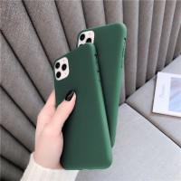 FOR IPHONE 11, 11 PRO, 11 PRO MAX - GREEN ARMY WINE RED SOFT CASE