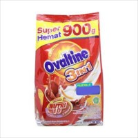 Ovaltine 3in1 Classic Susu Cokelat Bag 900gr