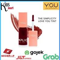 Kosmetik YOU The Simplicity Love You Tint/Lip Tint - Cherry red