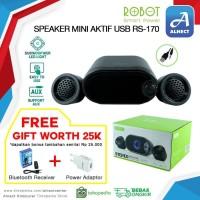 Speaker Mini Aktif USB Robot RS170