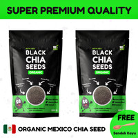MURAH 2 PACK Chia Seed Organik Mexico Premium Quality - Nutrilance