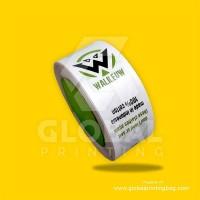 Label satin sablon/label baju/label merk/souvenir dll uk 3cm 2warna