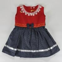 Dress Pesta Anak Umur 1 - 2 Tahun Dress Ulang Tahun Bagus Dan Murah w