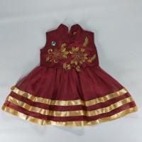 Dress Pesta Anak Umur 1 - 2 Tahun Dress Ulang Tahun Bagus Dan Murah B1