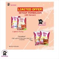 SLIMFIT SLIM FIT Milk Susu Bubuk Choco Malt Box 312 g
