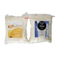Lulur Pemutih Badan 400 gram ( Bengkoang + Susu )