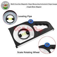 Multi Rotary Angle Meter Protactor /Meteran Sudut Waterpass Magnetic