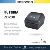 Printer Label Barcode ZEBRA ZD230 Original