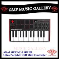 AKAI MPK Mini MK III / MPK Mini MK3 Ultra Portable USB Midi Controller