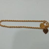 gelang nori 3 gram emas muda