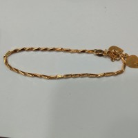 gelang padi 2 gram emas muda