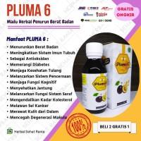 PLUMA 6 Pelangsing Herbal Penurun Berat Badan Madu Diet Detoxs Alami - 1 pcs