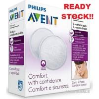 Avent 6 pcs WASHABLE BREAST PADS pad breastpad breastpads cuci ulang