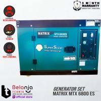 Genset Diesel Super Silent Matrix MTX 6800 ES - 5000 Watt - Generator