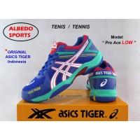 Sepatu Asics Tiger PRO ACE LOW Ori Tenis Tennis Raket Wilson Yonex
