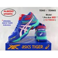 Sepatu Asics Tiger PRO ACE MID Ori Tenis Tennis Raket Babolat Head
