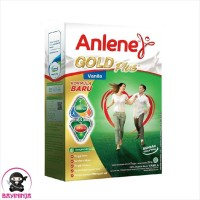 ANLENE Gold Plus Vanila Susu Box 250 g