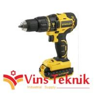 Brushless hammer drill mesin bor baterai 18V SBH201D2K STANLEY SBH 201