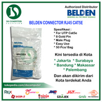Belden Connector Rj45 Cat5e (50pcs)