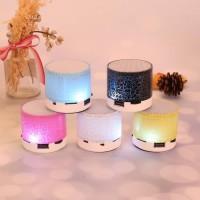 SPEAKER BLUETOOTH LAMPU LED BULAT S10 MODEL RETAK GU JS179