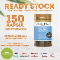 Healthy Care Triple Strength Fish Oil - 150 Kapsul