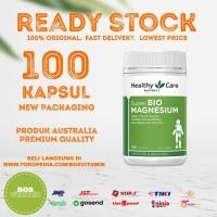 Healthy Care Super Bio Magnesium - 100 kapsul