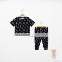 Lunaci Black Ethnic Pyjamas Boy Kids