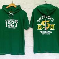 kaos hoodie persebaya 1927 hijau
