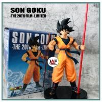 Action figure Dragon Ball Son Goku 20th film Z anniversary LIMITED