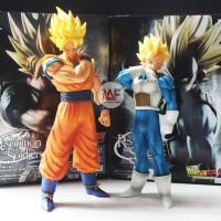 Action figure Dragon Ball Sun Goku Vegeta resolution of soldiers ROS