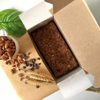 Callebaut Almond Fudgy Brownie   CMFY by Philocoffee - Sharing Size