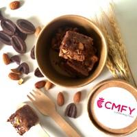 Guanaja Almond Fudgy Brownie   CMFY by Philocoffee - Bite Size