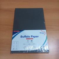 Ringo cover kertas bufalo printing hitam